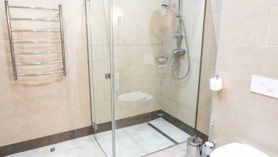 étanchéité du mur de douche
